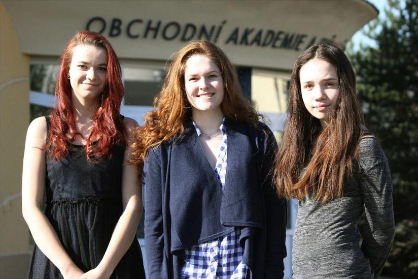 Klára Musilová, Lada Fabiánková, Tereza Kuchařová - Olympiáda v německém jazyce