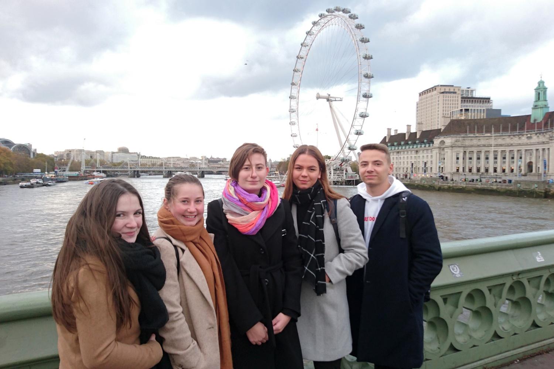 Erasmus+ Londýn 2019