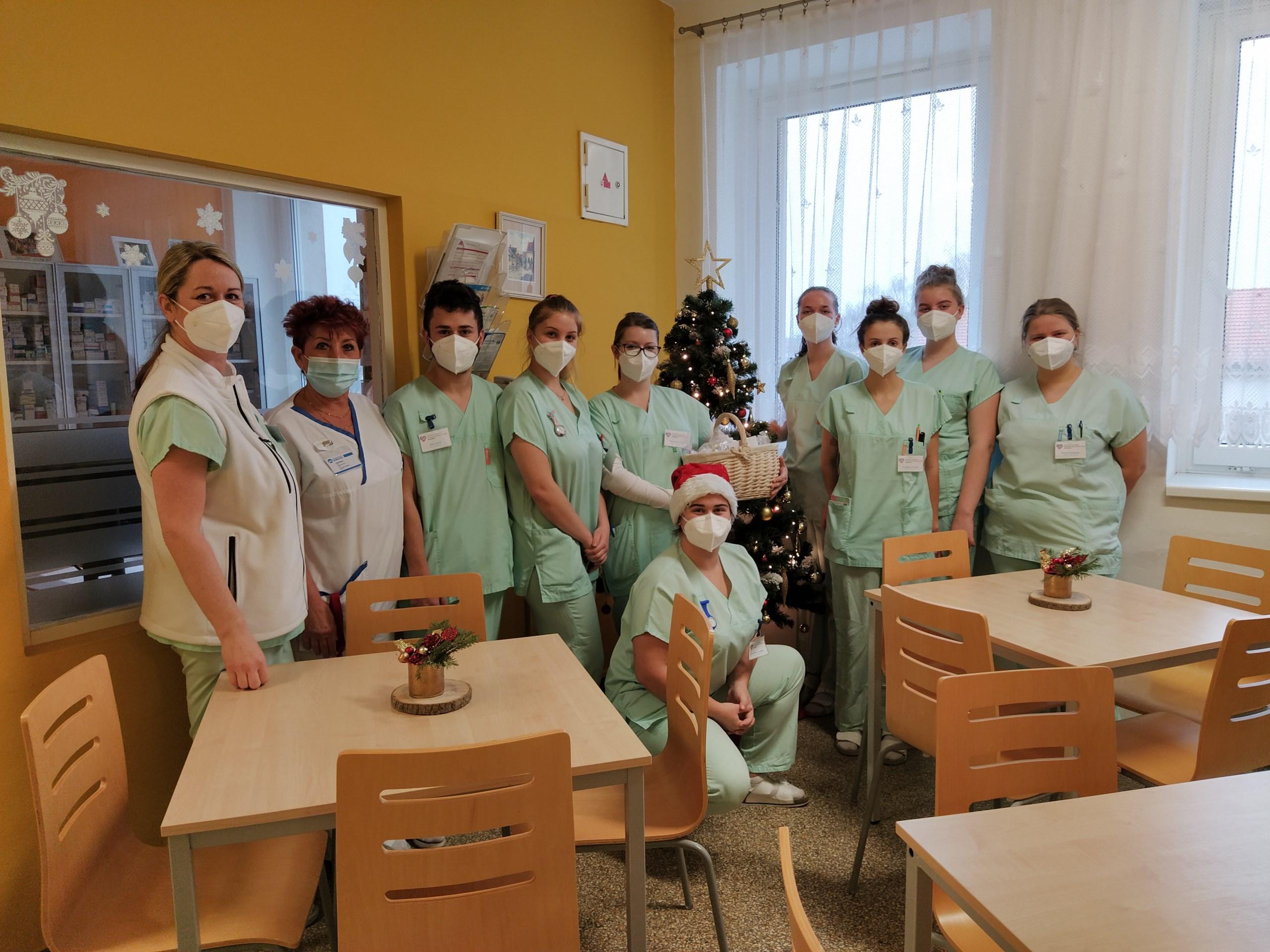 Z3 a Z4 na koledě v blanenské a boskovické nemocnici