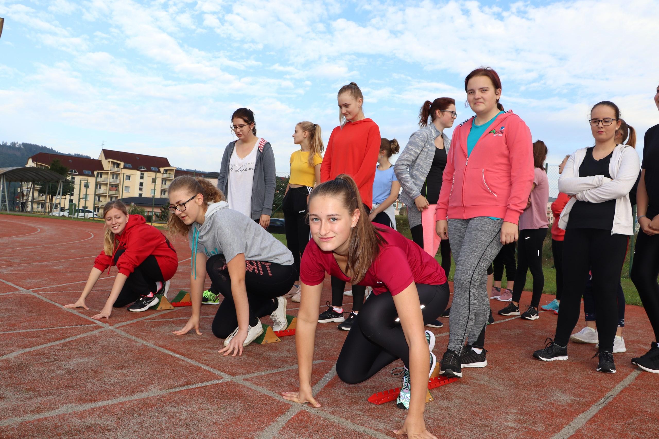 Přebor 1. ročníků v lehké atletice