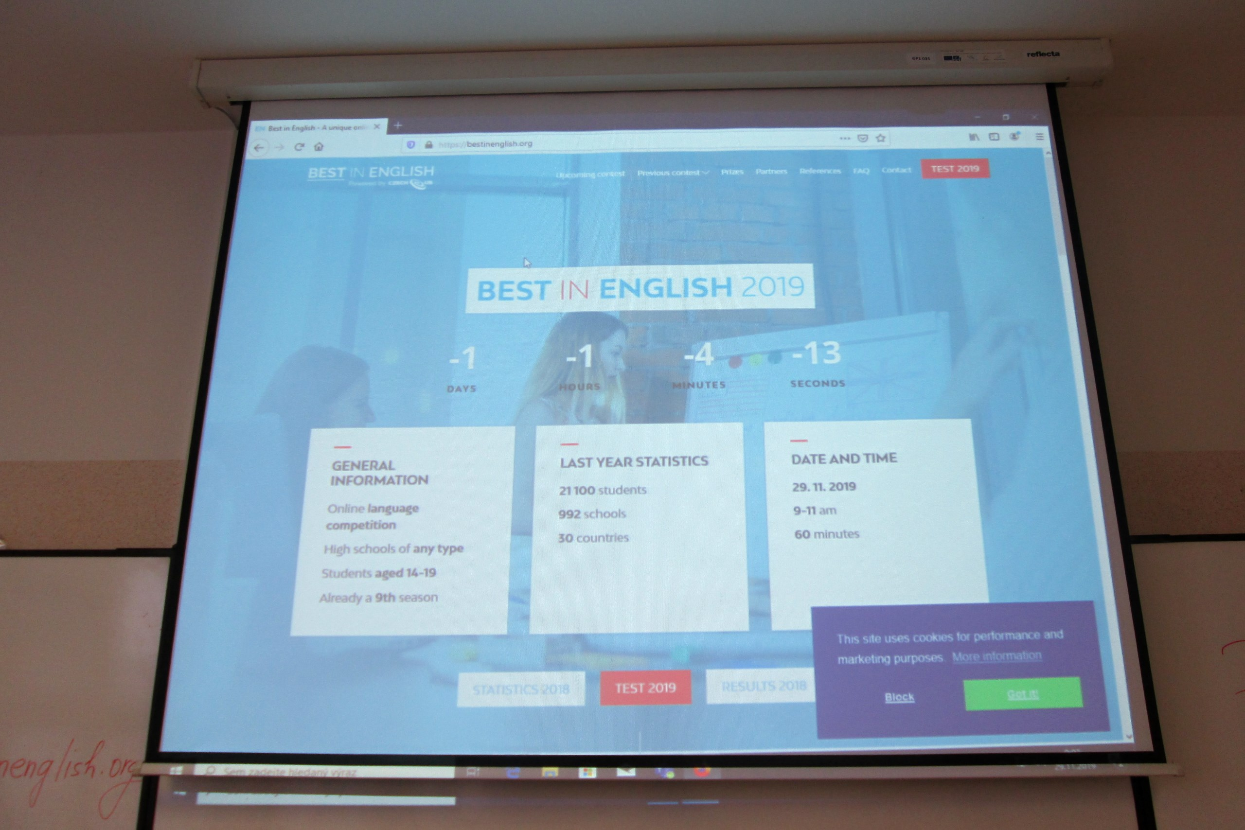 Best in English posedmé