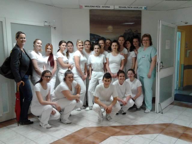 Z2 navštívila rehabilitační oddělení v nemocnici Blansko