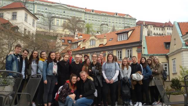 Třídy E2 a O2 navštívily Prahu