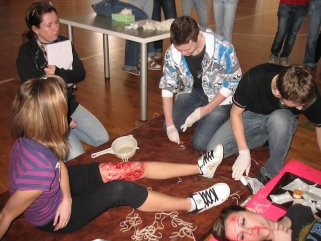 Soutěž první pomoci Blansko 2009