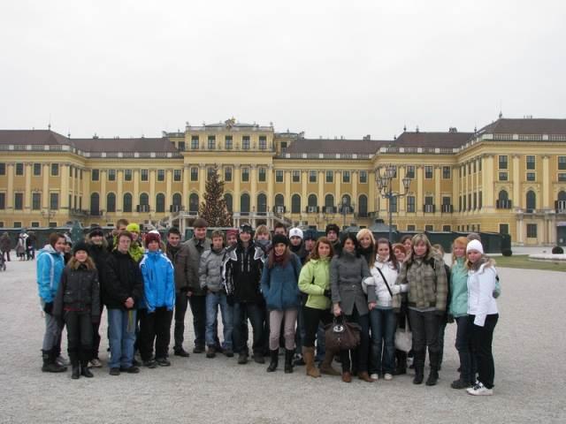 Předvánoční exkurze do Vídně