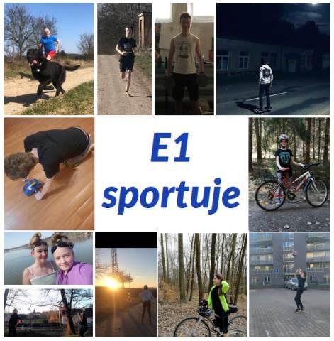 E1 sportuje