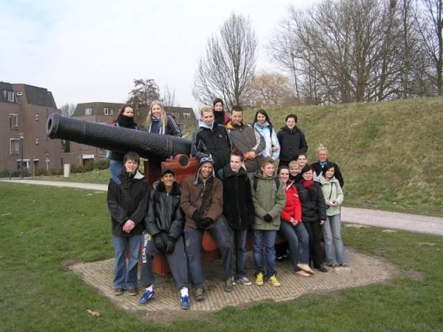 Návštěva v Nizozemí