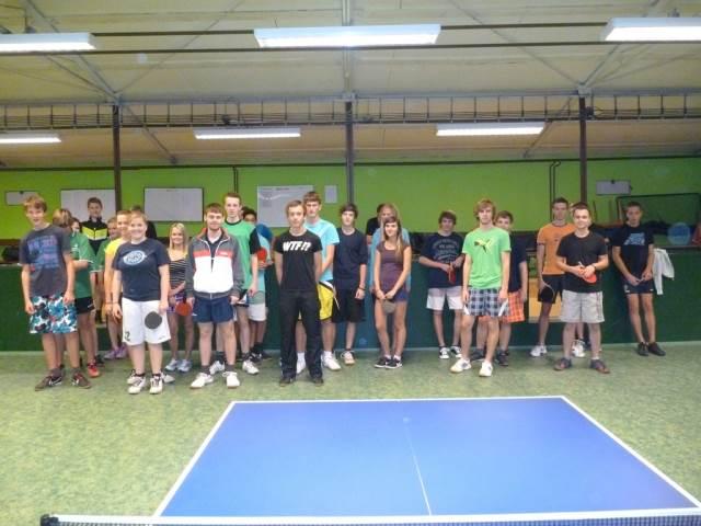 Okresní finále SŠ ve stolním tenisu