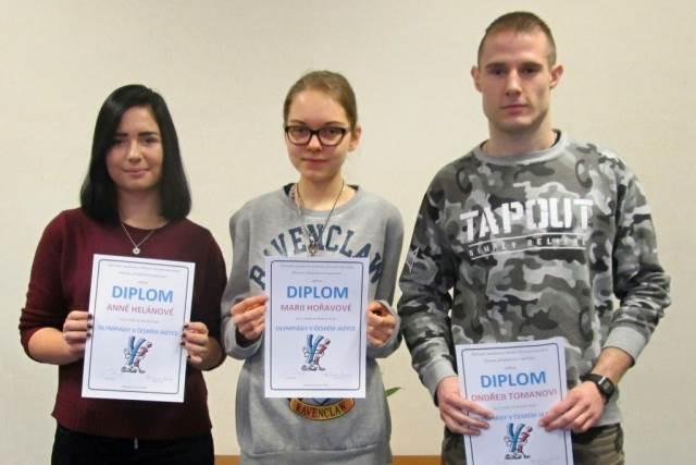 Školní kolo Olympiády v českém jazyce 2017