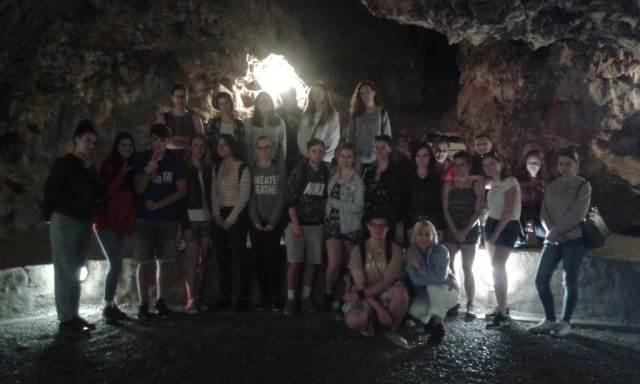 Druháci v Císařské jeskyni