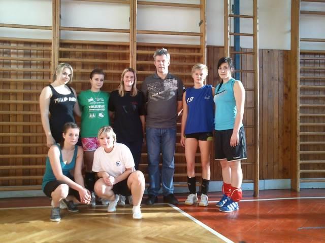 Volejbal - okresní kolo středních škol