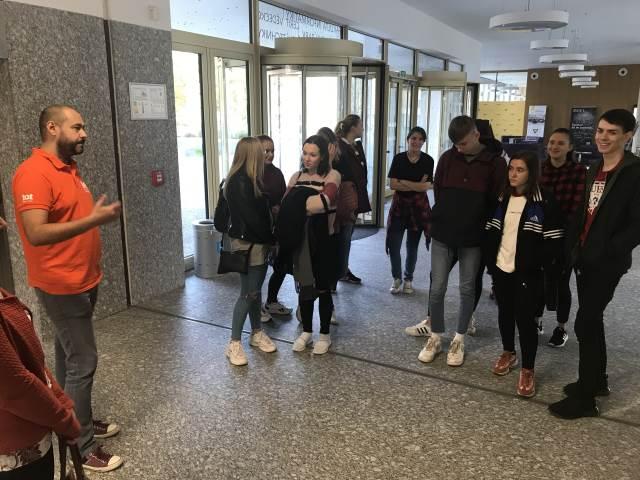 Exkurze na Fakultu informatiky Masarykovy univerzity