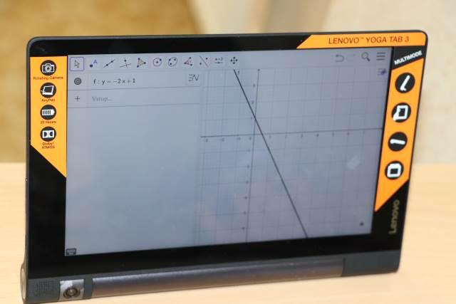 Výuka matematiky s tablety