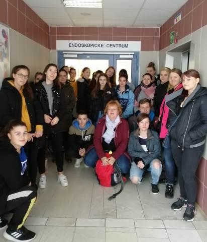 Návštěva endoskopického centra