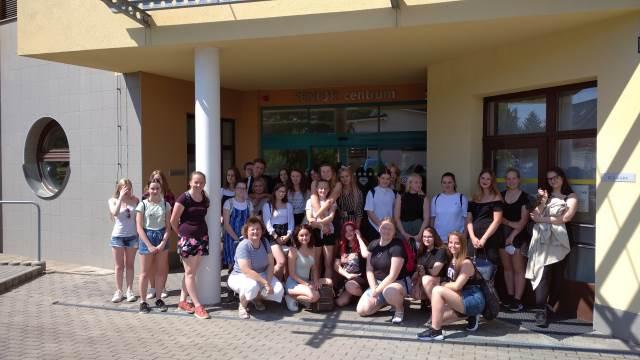 Žáci třídy Z2 oboru praktická sestra navštívili Senior Centrum v Blansku