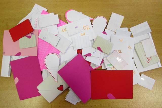 Valentýnská pošta potřetí