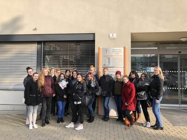 Návštěva Masarykova onkologického ústavu v Brně