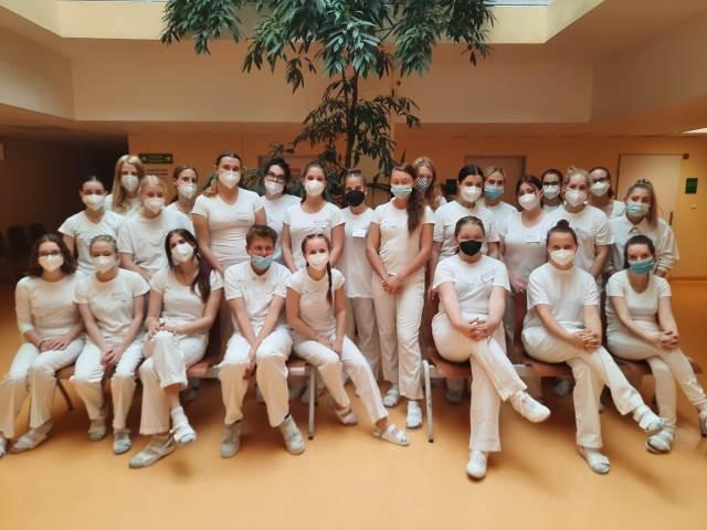 Exkurze třídy Z3 v Nemocnici Blansko
