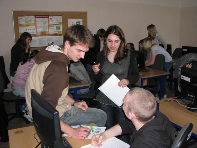 Studenti z Boulocu opět po roce na OA a SZdŠ