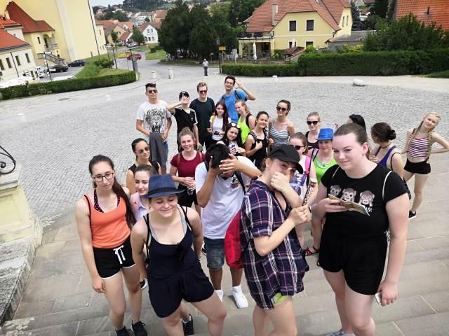 Výlet třídy O1 do Valtic